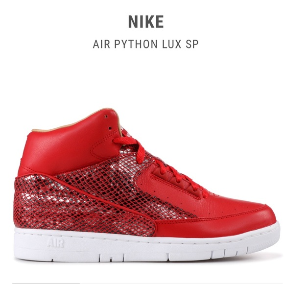 Nike air python lux SP University red white 12